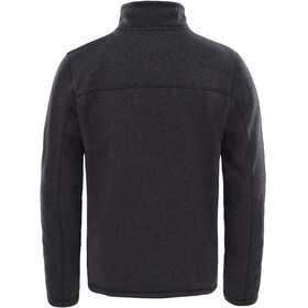 The North Face Gordon Lyons 1/4 Zip Fleece Sweatshirt Men TNF Black Heather